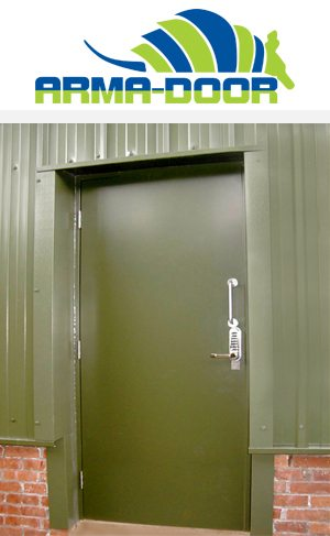 Steel Hinged Door - The Arma Door