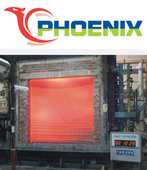 Fire Rated Roller Shutter w/Tubular Motor - 2 Hour Rating - The Phoenix