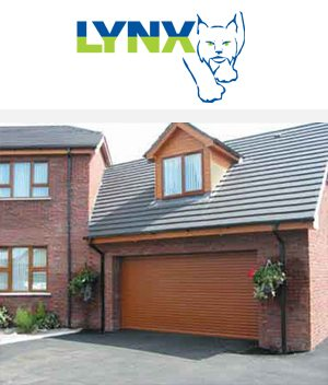 The Lynx Automatic Roller Garage Door